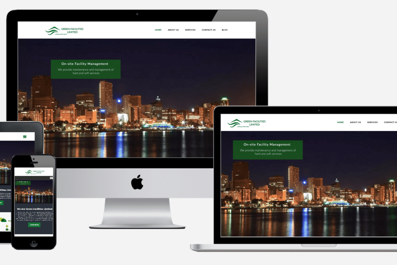 green facilities ltd website project