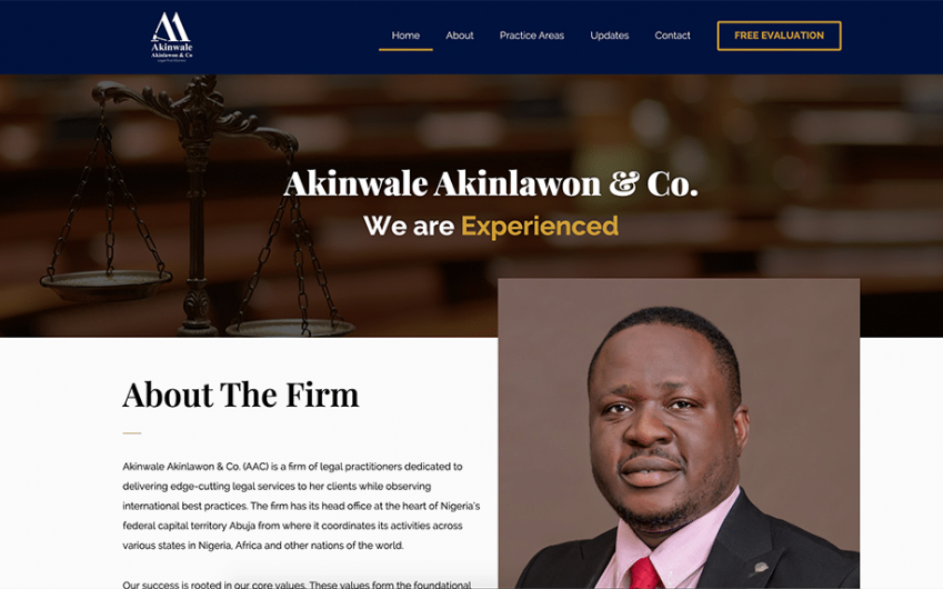 Akinwale Akinlawon-Co Website