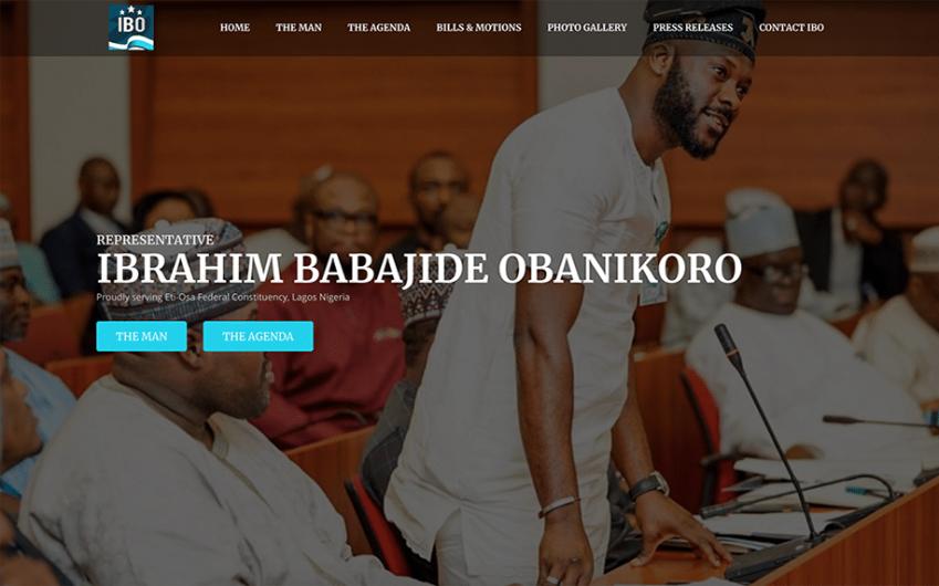 Ibrahim Babajide Obanikoro Website